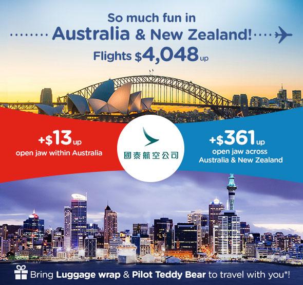 So much fun in Australia & New Zealand!